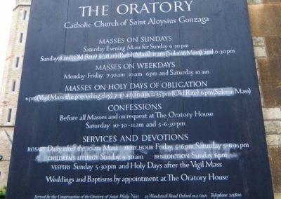 Oratory-